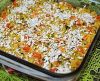 Assado de Abobrinha com Tofu (vegana)