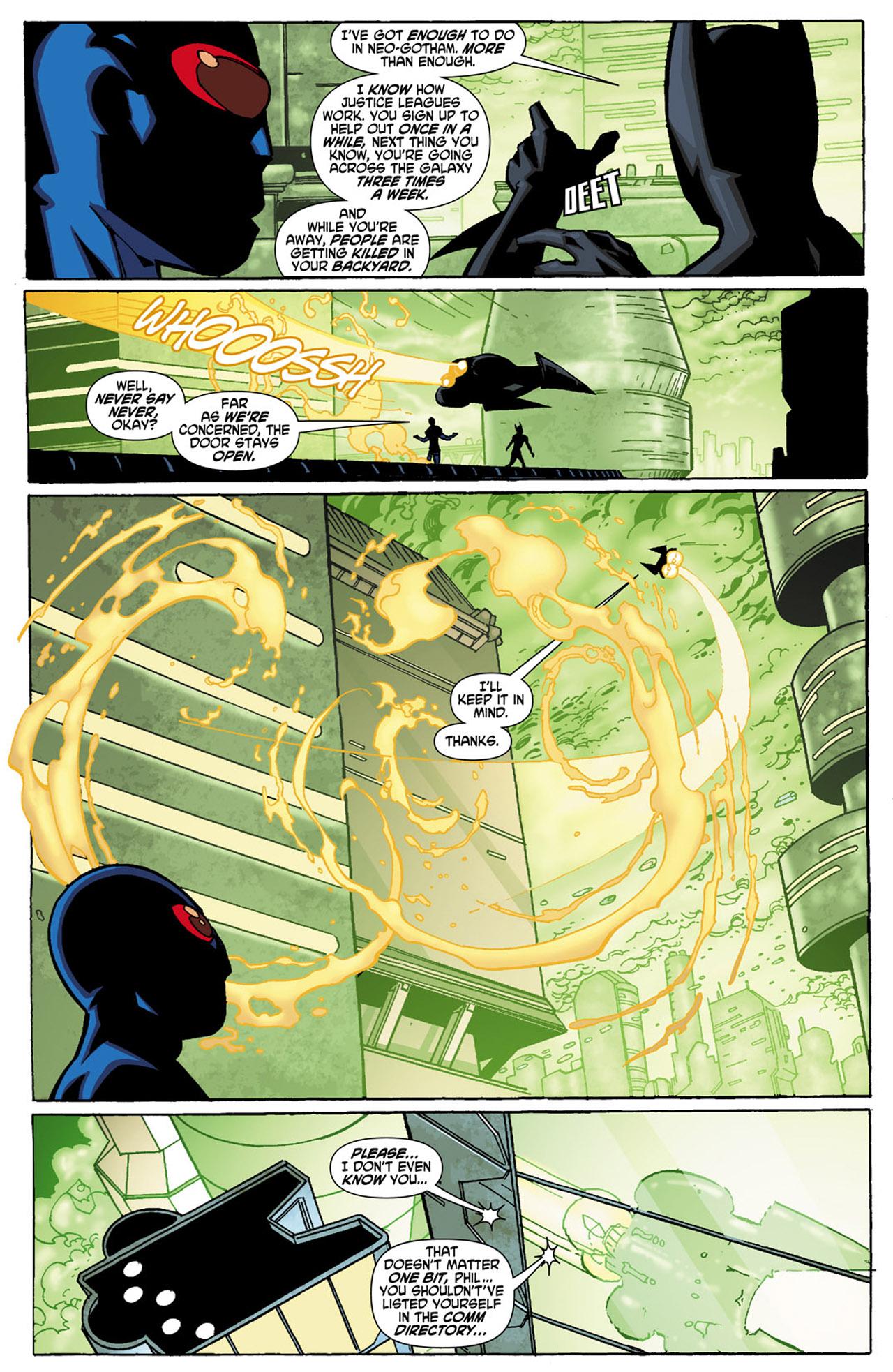Batman Beyond (2010) Issue #1 #1 - English 12
