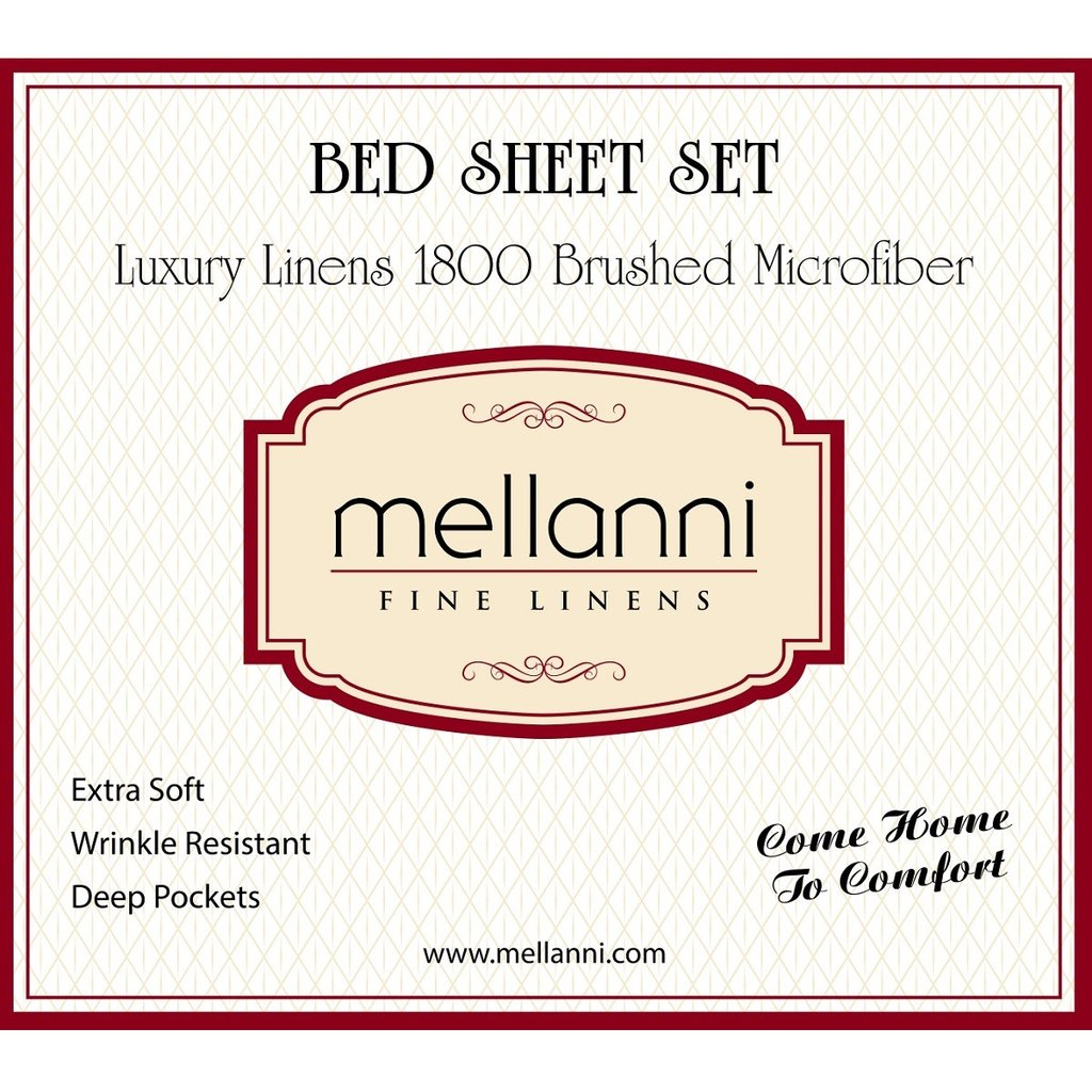#Giveaway Luxury Sheet Sets from Mellanni Fine Linens