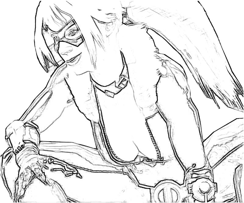 free marvel black cat coloring pages