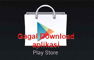 gagal update playstore