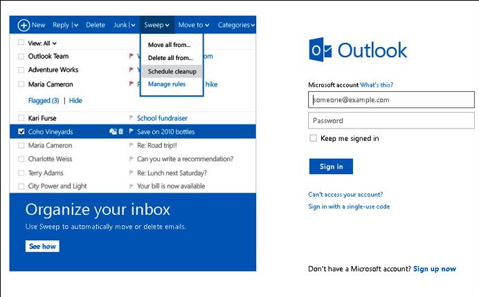 Membuat Email Baru Hotmail