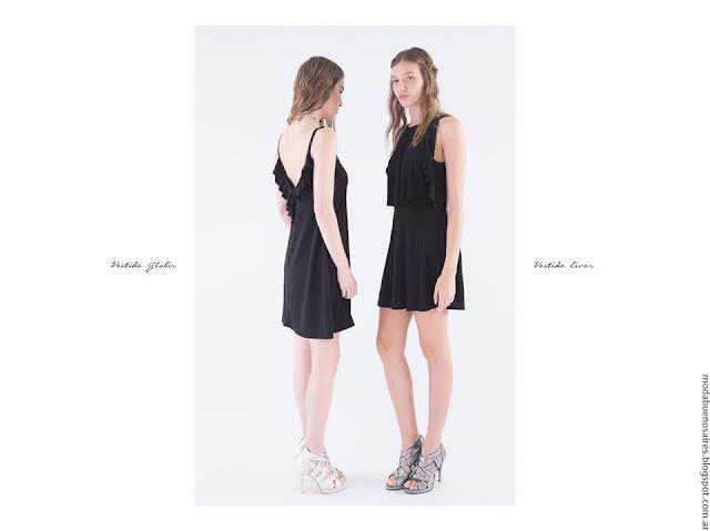 Moda verano 2017 ropa de moda mujer casual urbano vestidos.