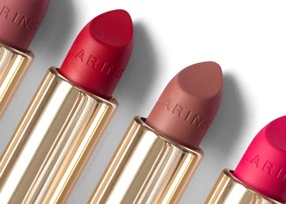 Rouges à lèvres Joli Rouge Velvet de Clarins Avis Revue