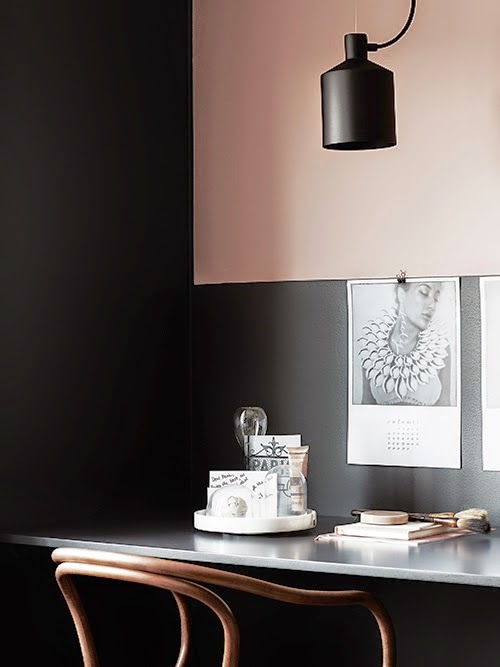 My scandinavian home a black beige and pink stockholm apartment
