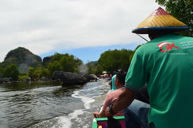 Susur Sungai Pute Rammang-Rammang, Maros, Sulsel +jelajahsuwanto