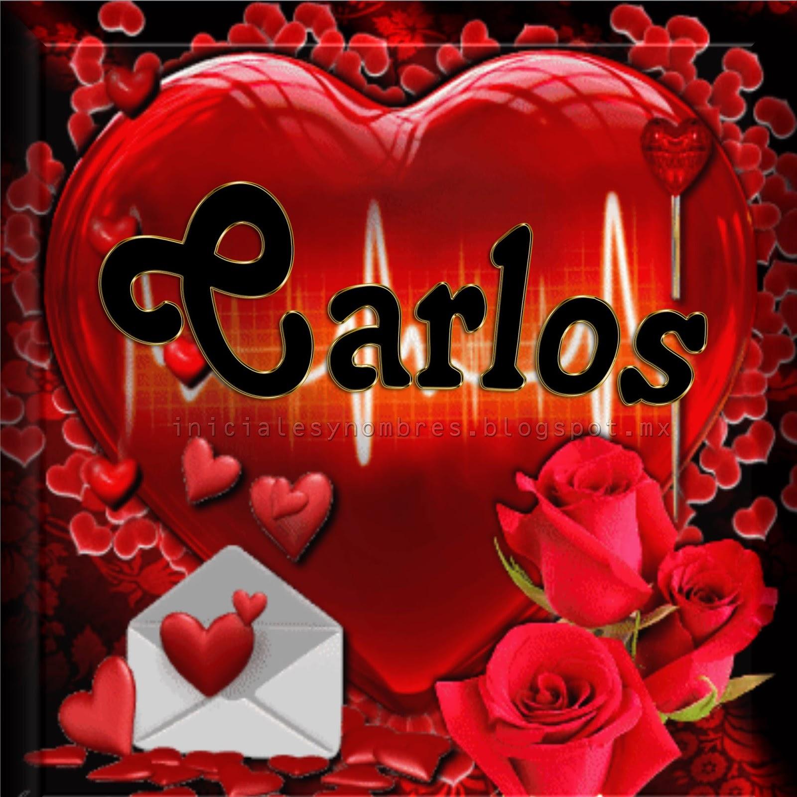Iniciales Y Nombres Para Ti Nombres De Hombre En Un Lindo Corazon Rojo