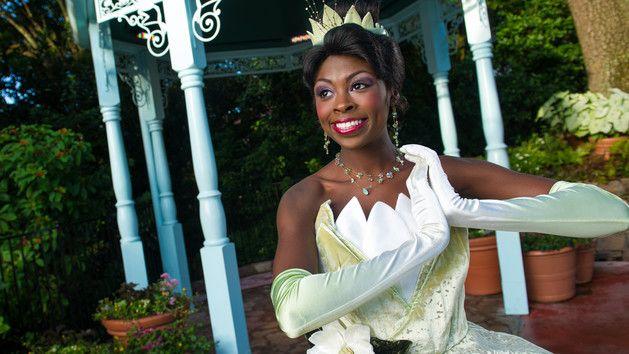 Onde encontrar a princesa Tiana nos parques da Disney