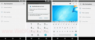 Aplikasi Remote Komputer PC dari jarak jauh dengan Android Terbaik Chrome Remote Desktop