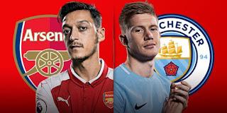 مشاهدة مباراة ارسنال ومانشستر سيتي بث مباشر Arsenal vs Manchester اليوم الخميس 1 -3-2018