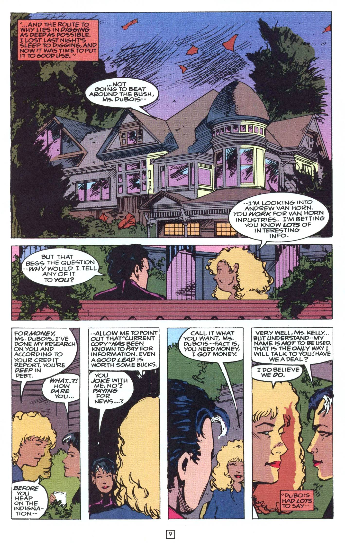 Read online Gunfire comic -  Issue #9 - 13