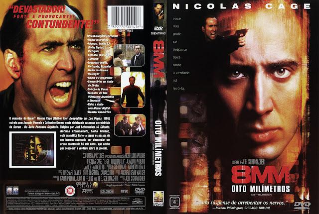 Capa DVD 8MM OITO MILIMETROS