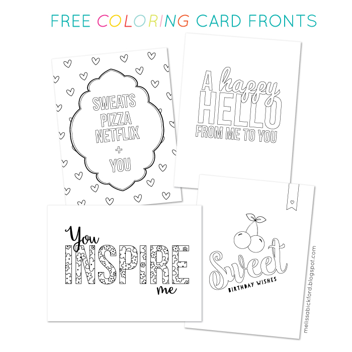 To See These Card Fronts In Color You Can Click On My Instagram Feed The Sidebar Im Sharing Them There And Facebook Page DOWNLOAD FREE