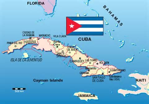 guantánamo bay cuba map