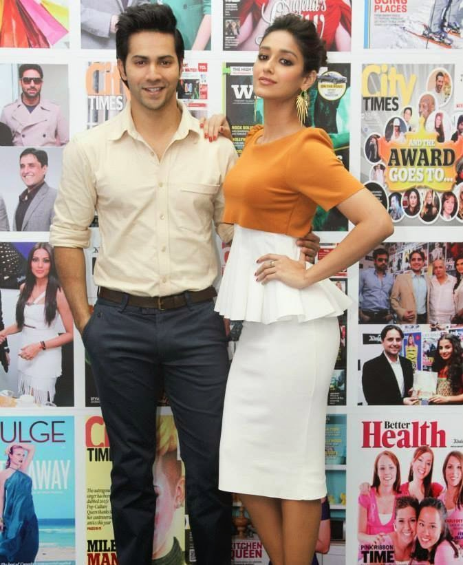 Varun Dhawan & Ileana D'Cruz promote Main Tera Hero in Dubai