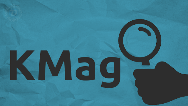 KMag - Lupa para Linux