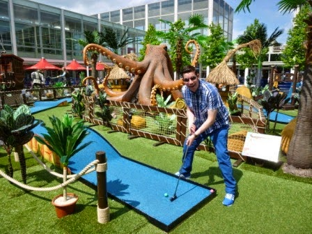 Adventure Miniature Golf at thecentre:MK
