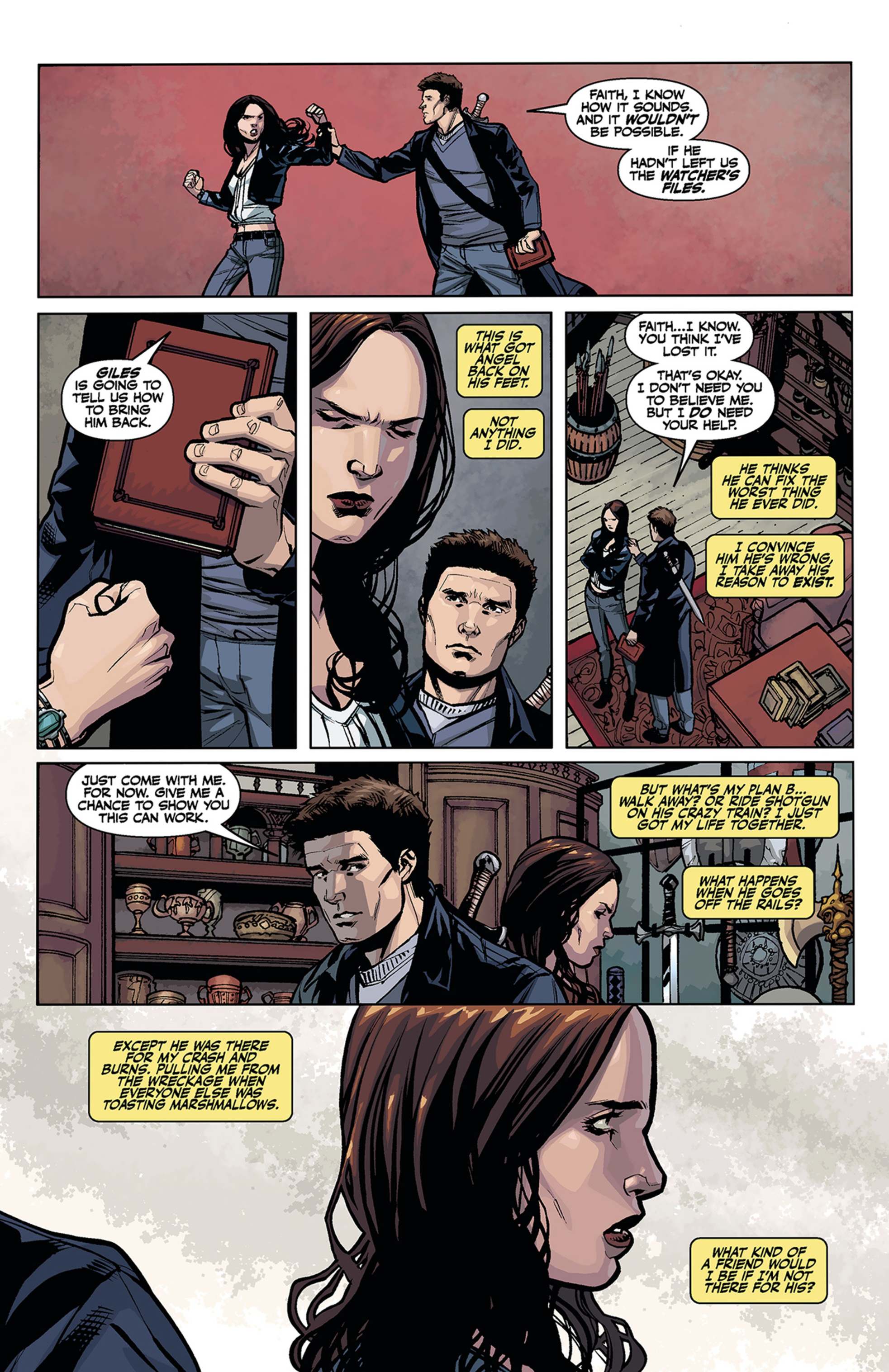 Read online Angel and Faith comic -  Issue #2 - 10