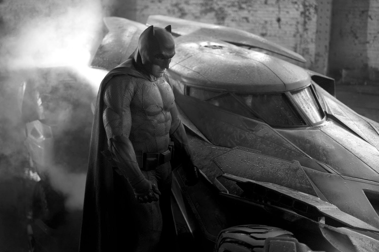 Batmobile and Batman v Superman: Dawn of Justice