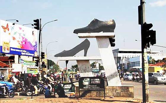 Sepatu wanita murah di Cibaduyut Bandung