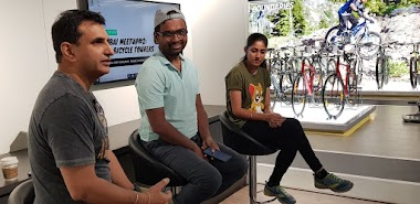 Mumbaikars get inspired by two epic cycling journeys.