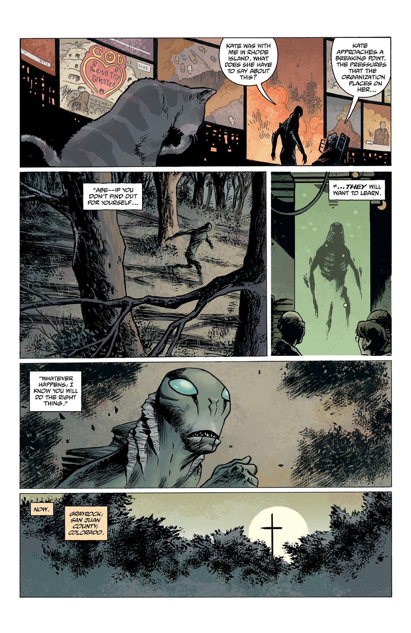 Read online Abe Sapien comic -  Issue #2 - 7