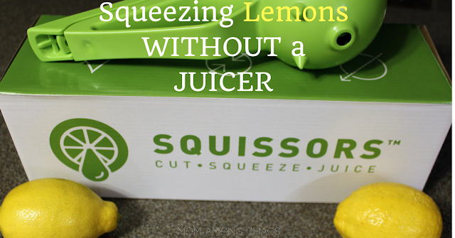 squeezing lemons without juicer