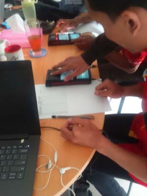 Alat Pemindai eKTP dan sensor biometrik