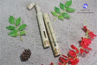 undangan gulung bambu coak