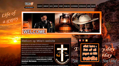 Website Mike van de Beek