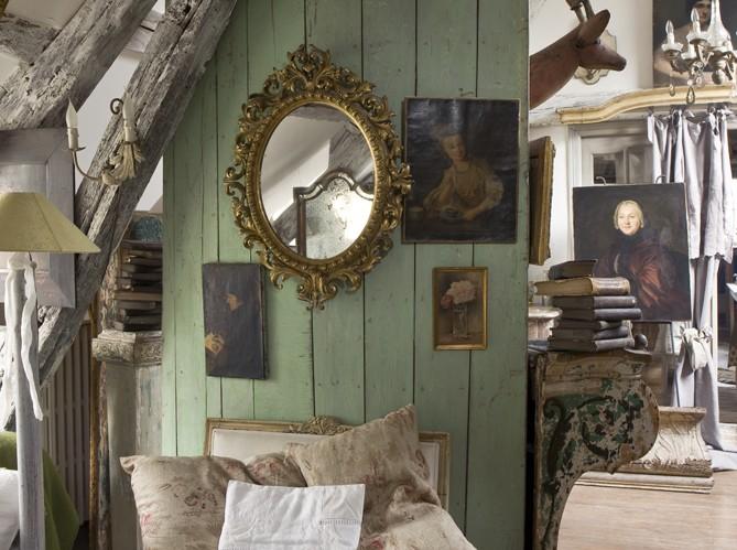 Chateau de ron fransk inredning for Maisons de famille art et decoration