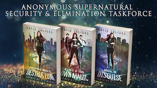 Supernatural Fantasy Books By Katie Salidas