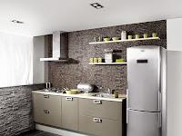 Dapur Minimalis Batu Alam