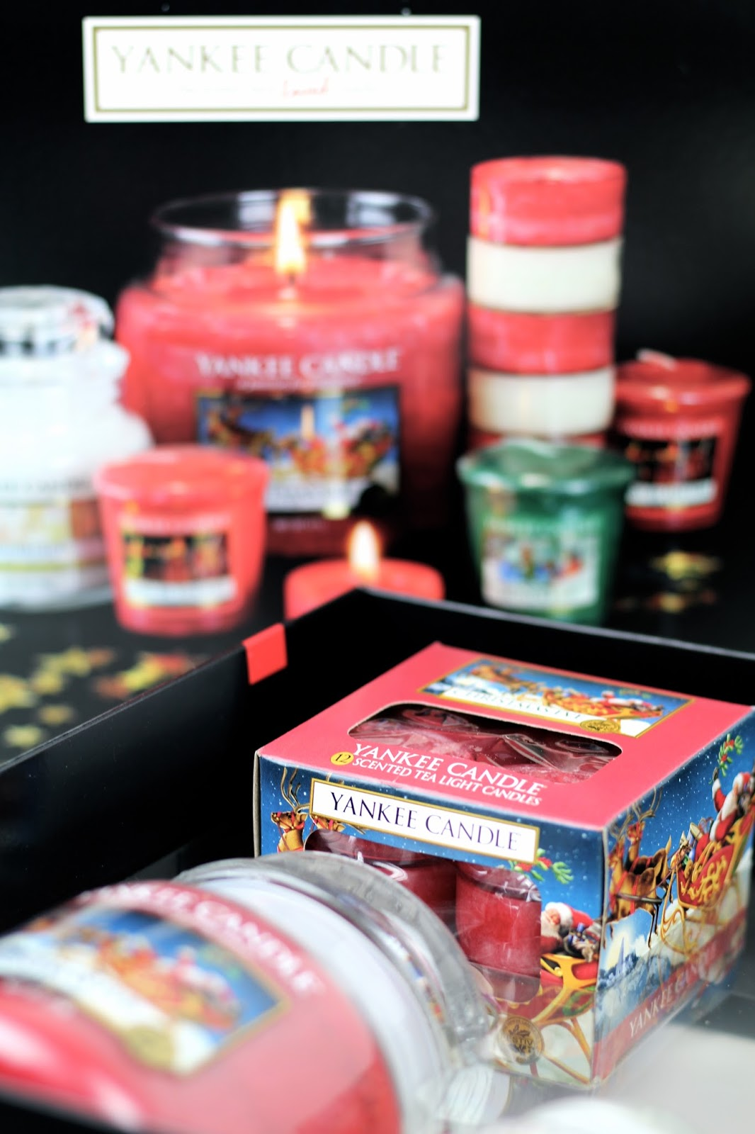 Christmas candle gift box by Yankee Candle 2016