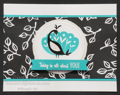 Beautiful Peacock, SAB, Sale-A-Bration 2018, Stampin' Up!,