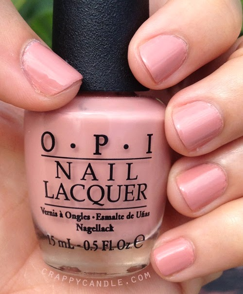 Opi Dulce De Leche Indoor Light Cry Candle The Perfect Rosy Nail Polish