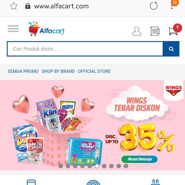 Belanja Bulanan Murah di Alfacart Lebih Praktis dengan Shopping List