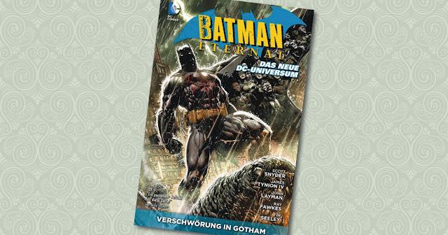 Batman Eternal Paperback Panini Cover