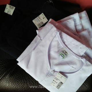 Harga baju sekolah budak perempuan darjah 1