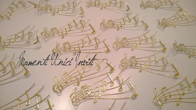 scia Oggi in lab... tante scie musicali :-)Tema Musica