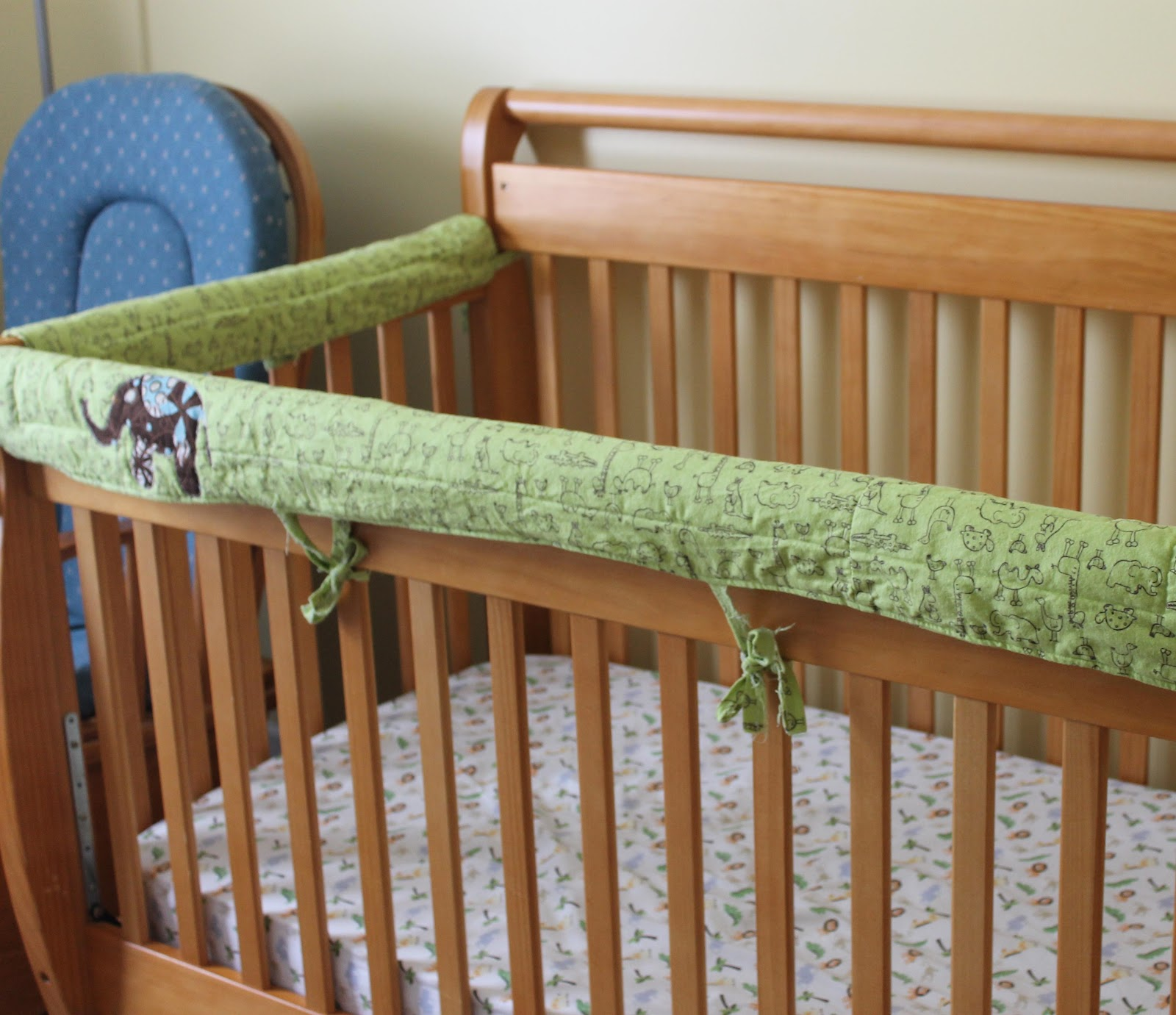Crib Bumper Pattern