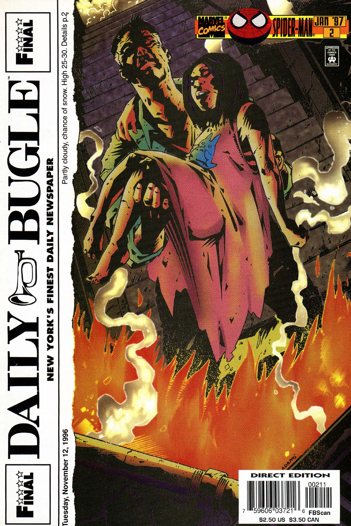 Read online Daily Bugle (1996) comic -  Issue #2 - 1