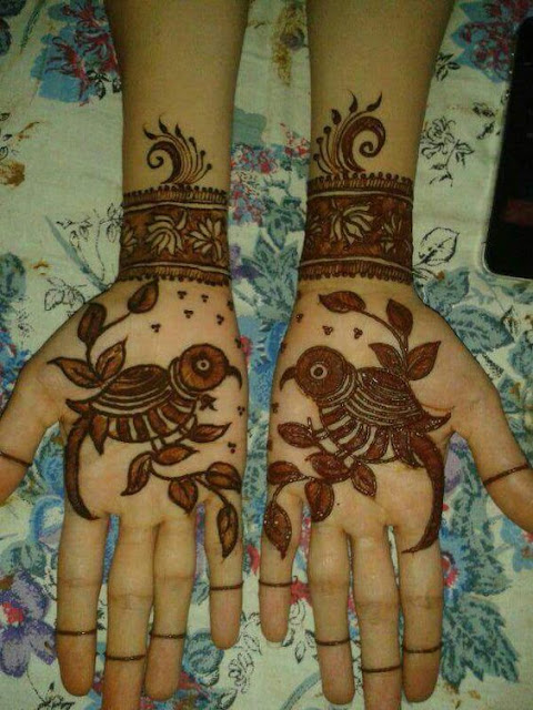 Beeautiful Arabic Mehndi Design For Bridal