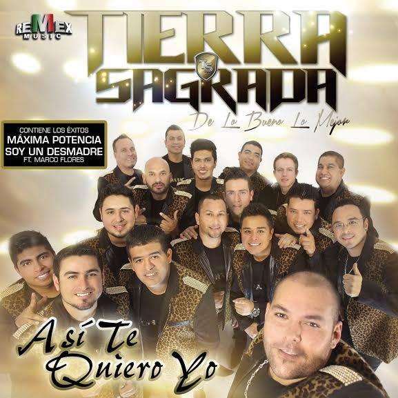 Banda Tierra Sagrada - Asi Te Quiero Yo (Disco 2014)