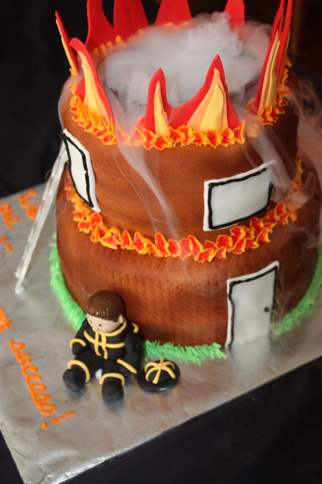 Sweet On You Designer Cups Amp Cakes Firefighter Cake