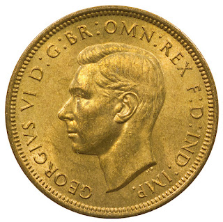 British Coins Halfpenny 1938 King George VI