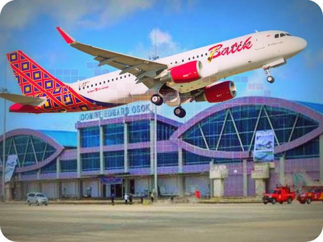 Batik Air Tambah Frekuensi Penerbangan Soekarno Hatta - Domine Eduard Osok