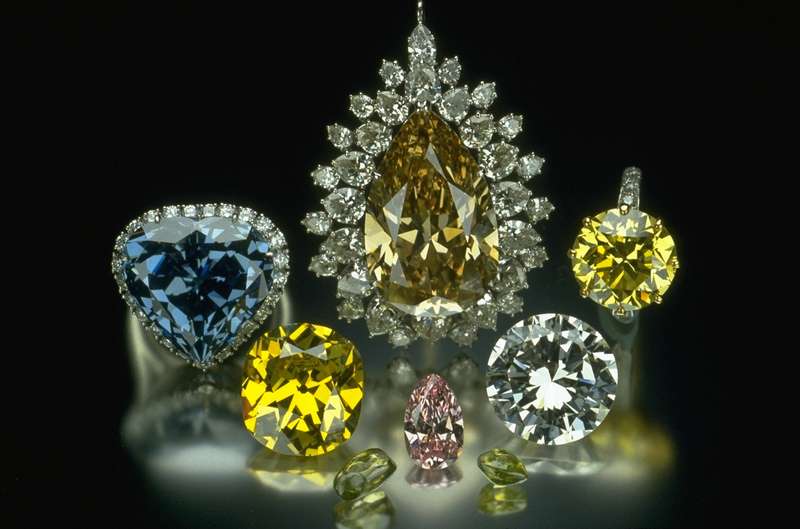 Natural History Museum of L.A. Minblog: Color in Diamonds