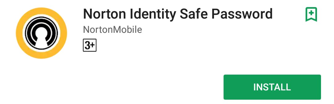 Norton Identity Safe Password