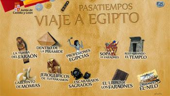 Resultado de imagen de PASATIEMPOS VIAJE A EGIPTO